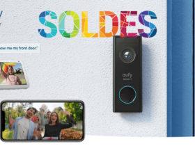 Amazon propose la eufy security en promotion pour les soldes d'hiver