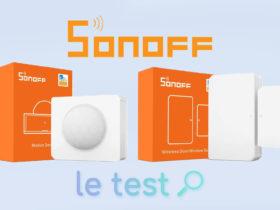 Notre avis sur les détecteurs de mouvements et capteurs d'ouverture de Sonoff en ZigBee
