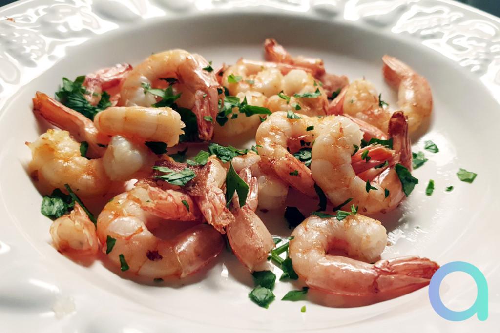 Crevettes surgelées à la friteuse à air Proscenic T21