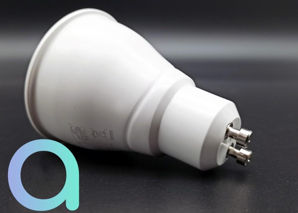 Vue de l'intégralité de l'ampoule Gu10 LIVARNO LUX GU10