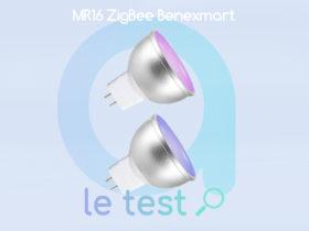 Notre avis sur les ampoules connectées Benexmart MR16 de Zemismart