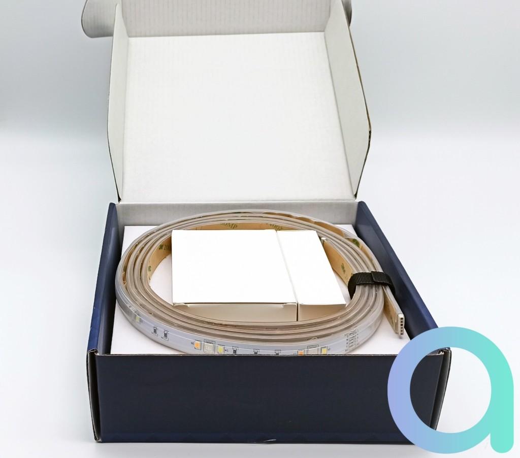 Boite ouverte du ruban LED LIVARNO LUX de Lidl