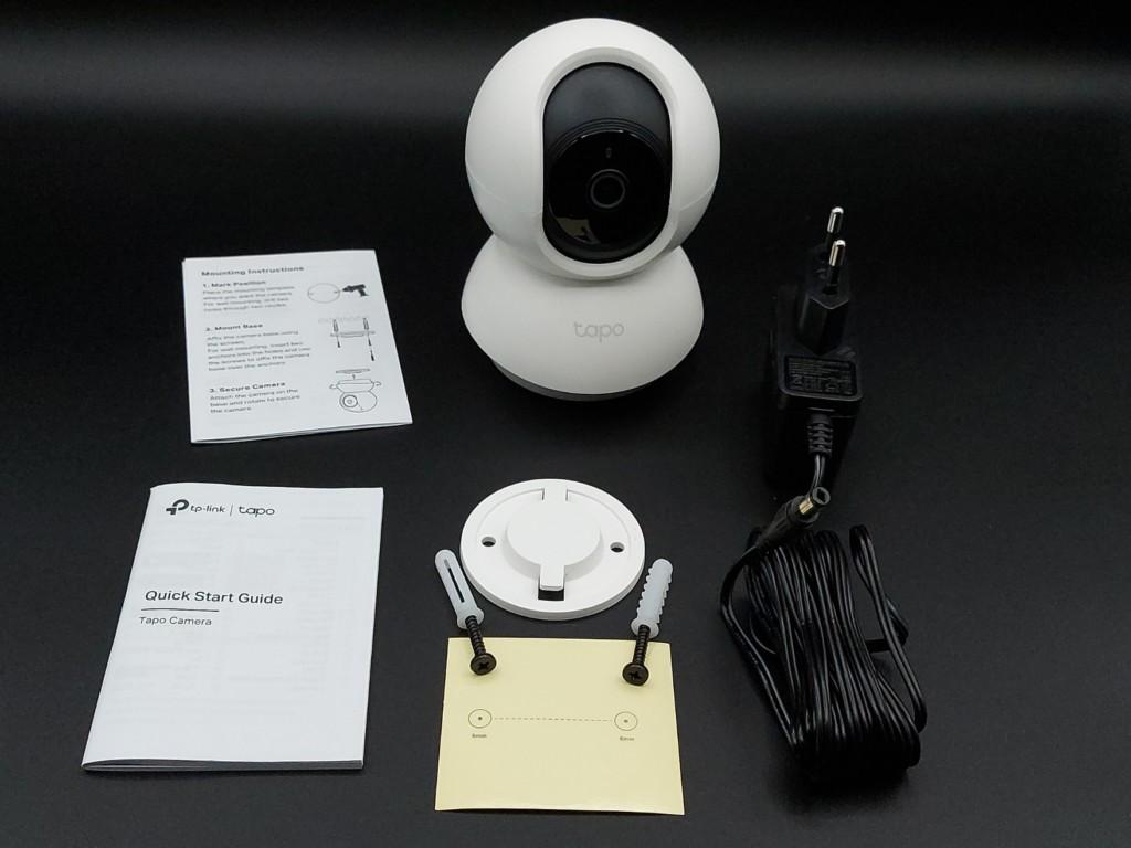 Conteneu du conffret de la Caméra TP-Link Tapo C200