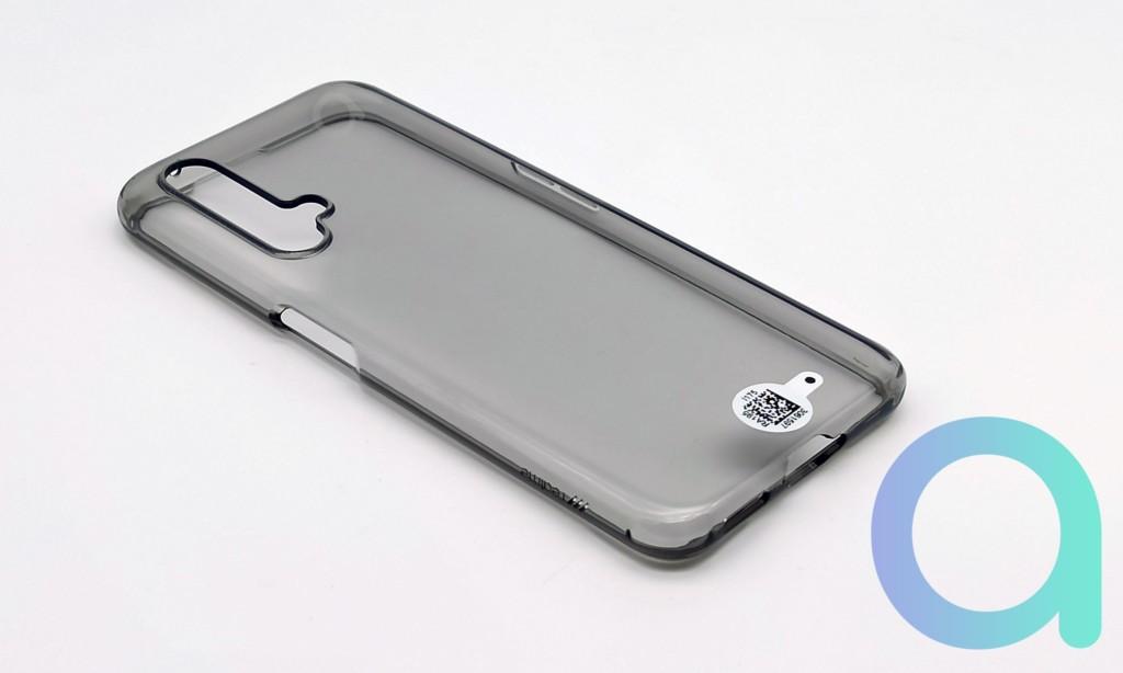 Coque en silicone transparente du smartphone Realme X3