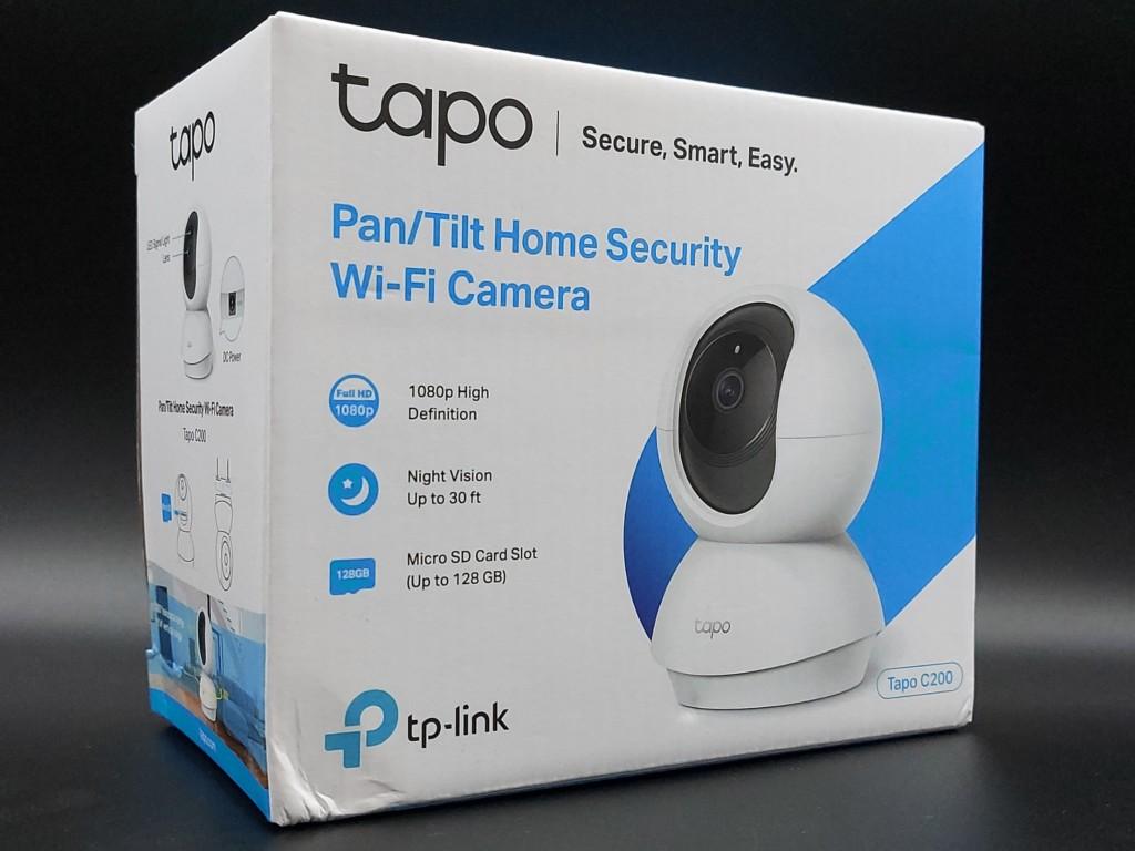Face avant packaging caméra intérieure TP-Link Tapo C200