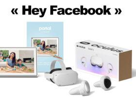 Facebook déploie un mot de réveil sur Portal et Oculus Quest 2