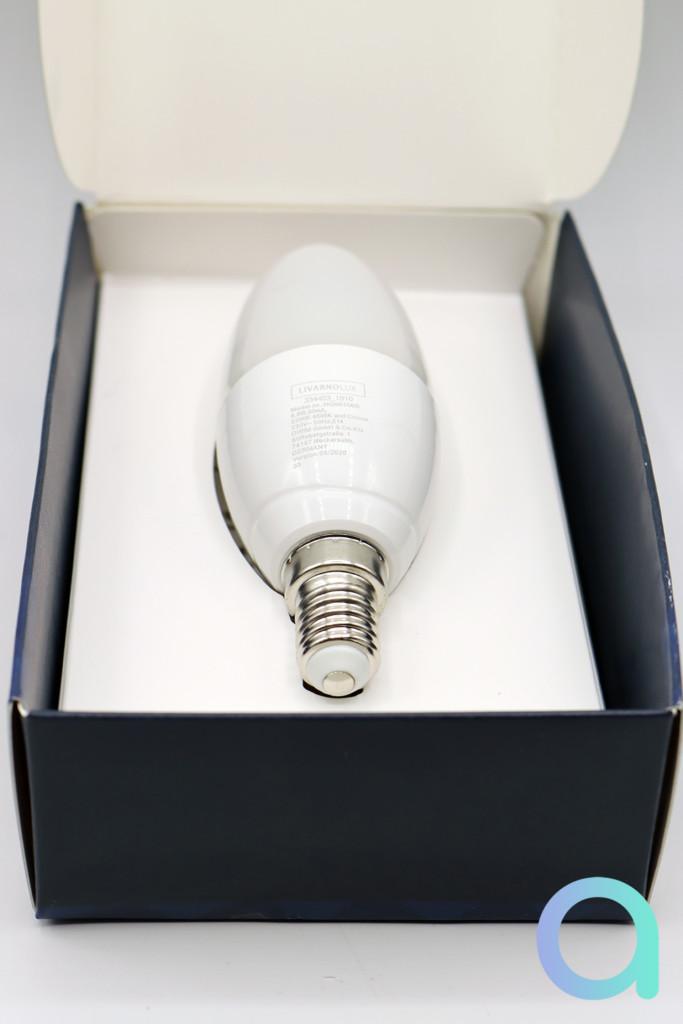 L'ampoule Livarno Lux E14 de Lidl