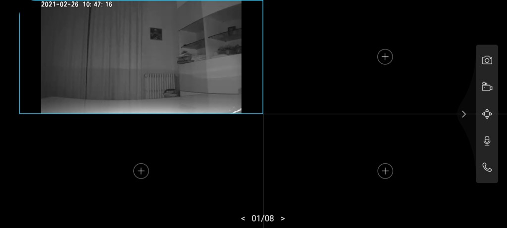 Image LQ de la caméra d'intérieur TP-Link Tapo C200
