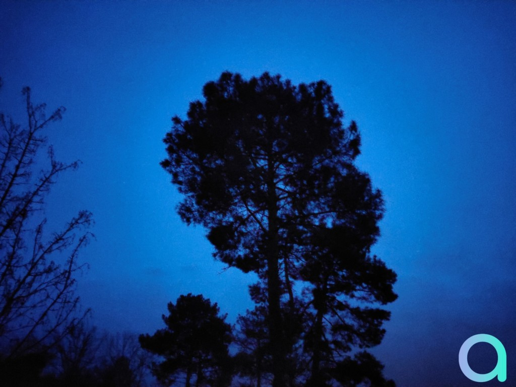 Photo de nuit avec mode nuit du smartphone REame X3