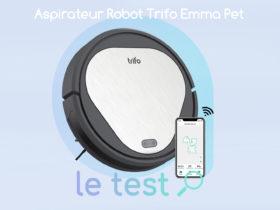 Notre avis sur l'aspirateur robot Trifo Emma Pet