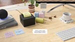 Amazon Smart Sticky Note : une imprimante connectée à Alexa