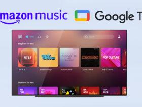 Amazon Music est disponible dès aujourd'hui sur Google TV et Android TV
