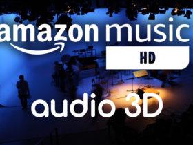 Amazon ajoute l'audio 3D à ses abonnements de musique HD