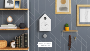 Smart Cuckoo Clock : une hrologe à coucou compatible Alexa !