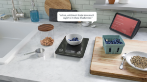 Amazon Build It : la balance alimentaire connectée Smart Nutrition Scale