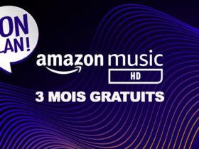 Amazon music HD gratuit pendant 3 mois