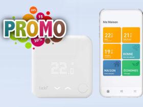Promo Amazon sur le thermostat connecté Tado° V3+