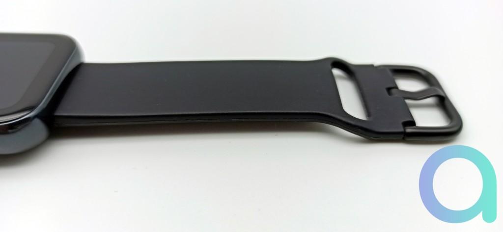 bracelet fermoir de la montre connectée Realme Watch