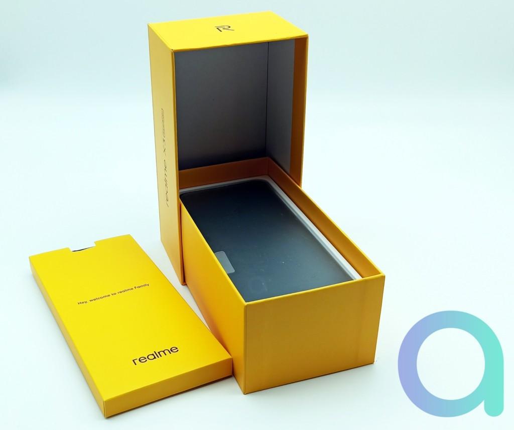 coffret du smartphone Realme X3