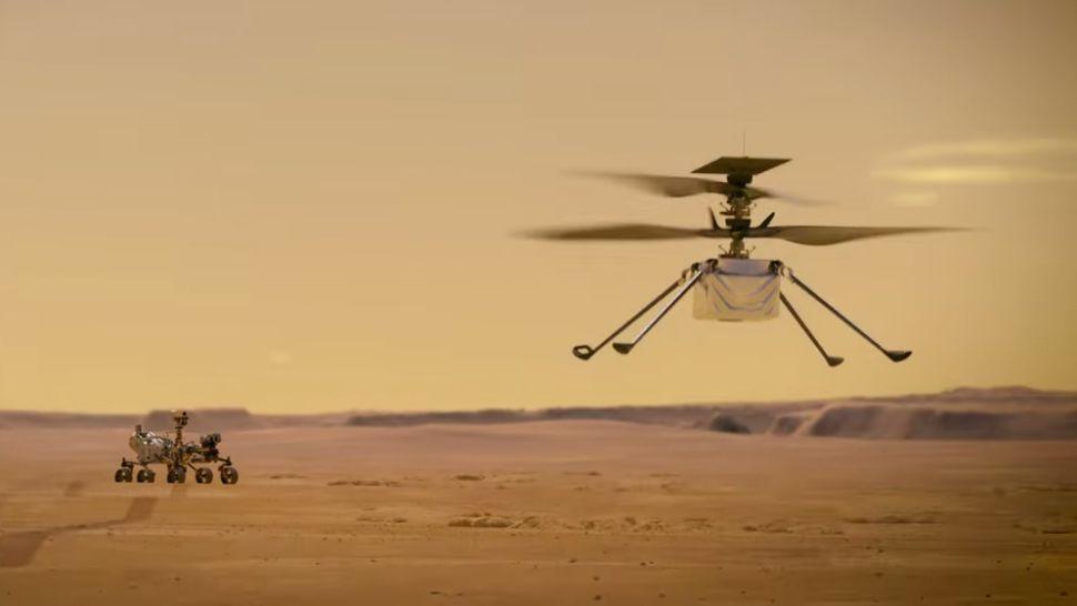 Mars Helicopter intègre le protocole ZigBee