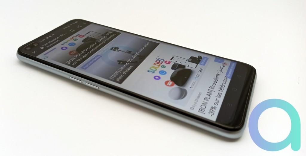 ecran du smartphone Realme X3