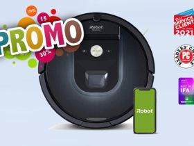 Super promo de -57% sur le iRobot Roomba 981 aujourd'hui