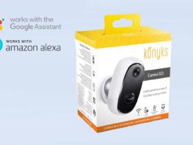 Présentation de la nouvelle caméra d'extérieur sans fil Konyks Camini Go