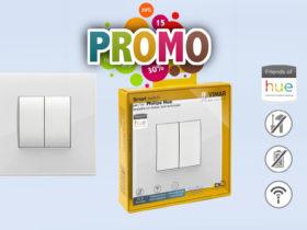 Promo sur les interrupteur Vimar compatible Philips Hue à -17%