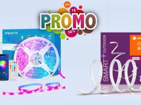 Promotions sur les rubans LED connectés