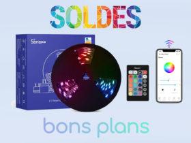 Domadoo propose le ruban LED Sonoff L1 Lite en promo