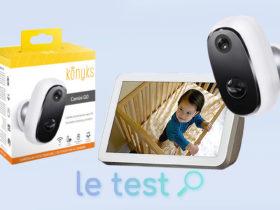 Notre avis sur la caméra d'extérieur IP65 sur batterie Konyks Camini Go