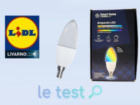 Notre avis de l'ampoule Livarno Lux E14 proposée par Lidl