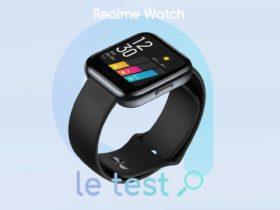Notre avis sur la montre connectée pas cher Realme Watch