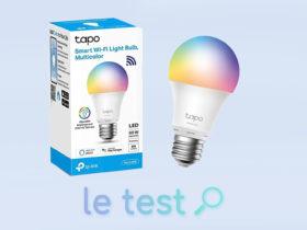 Notre avis sur l'ampoule connectée Tapo L530E de TP-Link