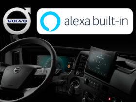 Volvo Trucks annonce la disponibilité d'Alexa sur ses camions