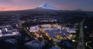La ville connectée Toyota Woven City au Japon