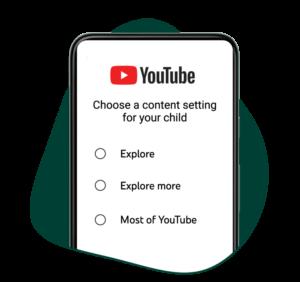YouTube offrira 3 niveaux de contrôle parental