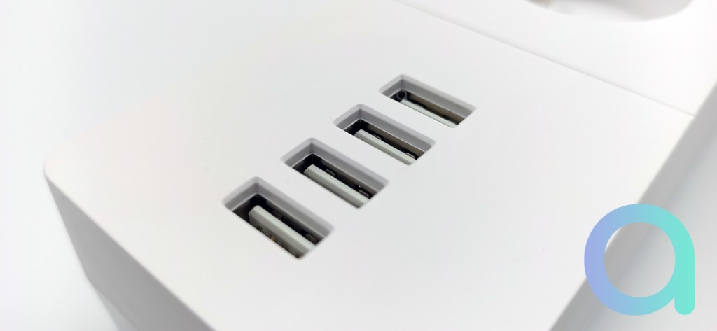 4 ports USB sur la prise multiple de Lidl