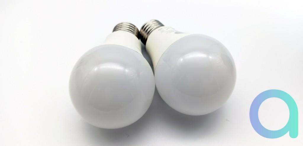 Ampoules LED connectées E27 CCT et RGB + CCT Nityam Smart