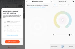 Application Smart Life avec intégration ampoule ZigBee Lidl