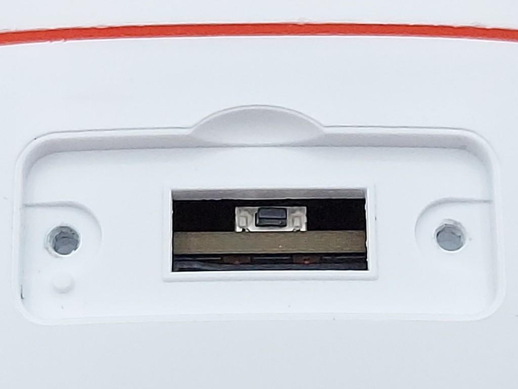 Bouton reset dans de la caméra Tapo C310