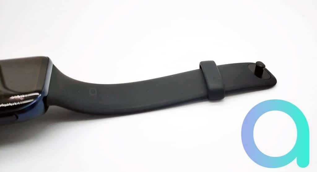 Bracelet fluoelastomère de la montre connectée Oppo Watch 46 mm LTE