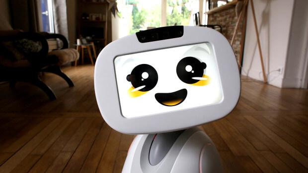 Un robot de visioconférence
