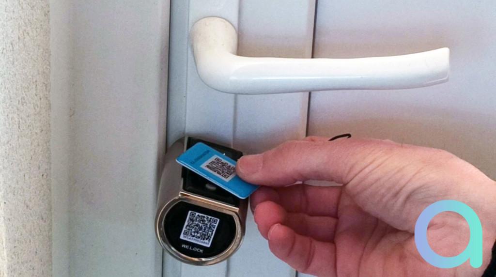 Carte RFID pour utilisation de la serrure connectée We.lock