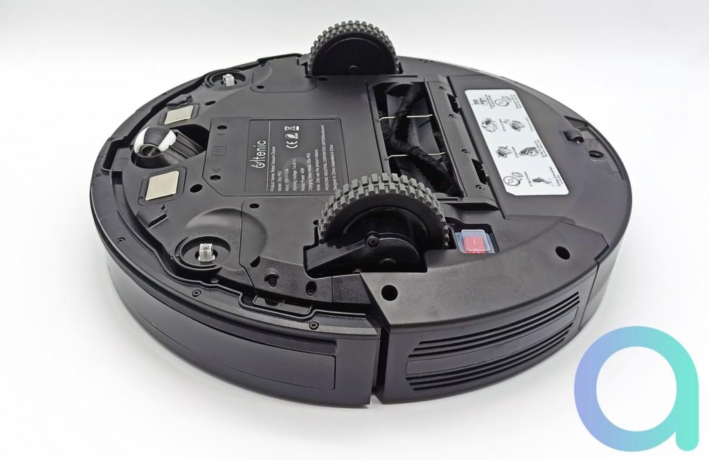 Dessous de l'aspirateur Ultenic D5S Pro
