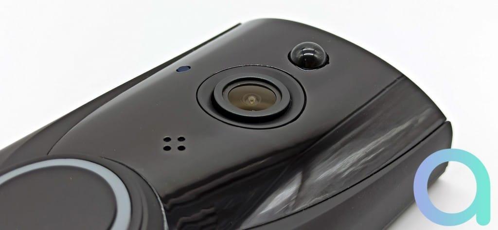 Détecteur de mouvement et caméra de la sonnette connectée Zemismart M16