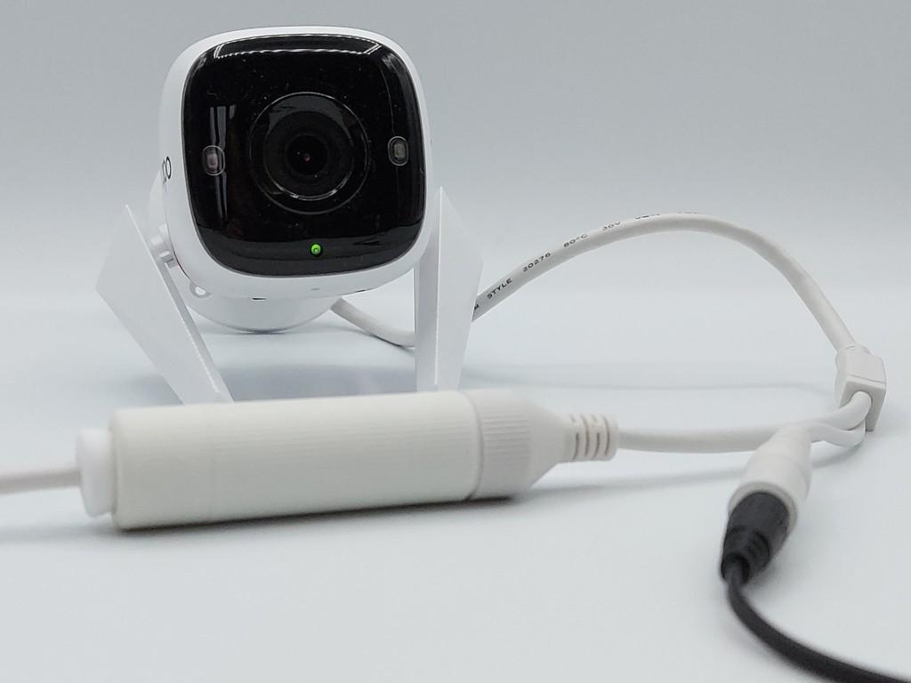 Etanchéité du cable Ethernet pour installation extérieure de la caméra Tapo C310