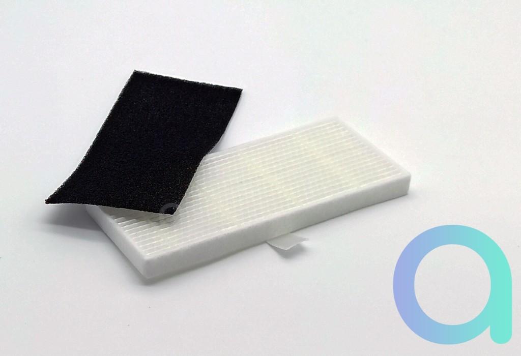 Filtre mousse noir et Hepa blac d'aspirateur connecté Ultenic D5S Pro