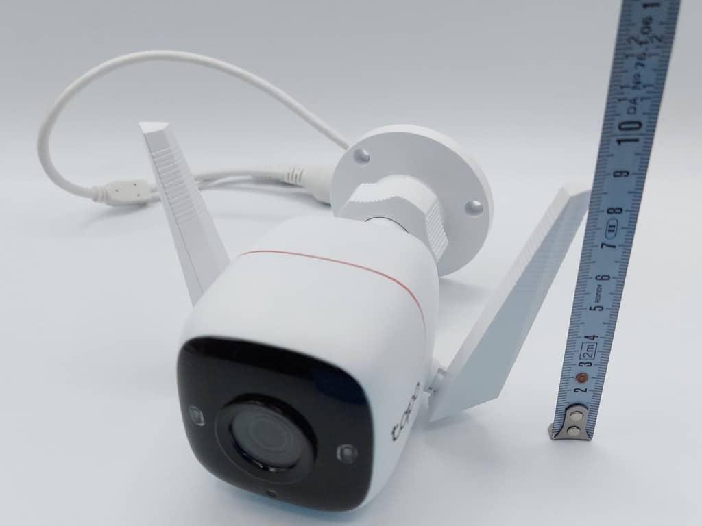 Hauteur de 8.6cm de la caméra TP-Link Tapo C310