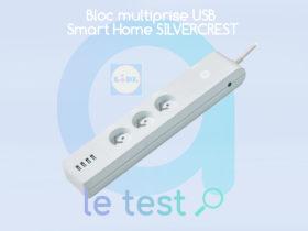 Notre avis sur la multiprise ZigBee SilverCrest disponible dans les magasins Lidl